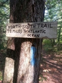 NorthSouth Trail Sign