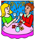 women sipping wine